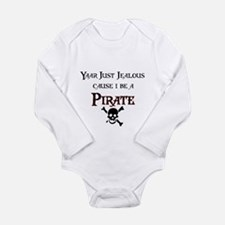 I be a Pirate Long Sleeve Infant Bodysuit
