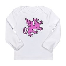 Pink Griffin Long Sleeve Infant T-Shirt