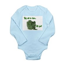 Will you be there? Long Sleeve Infant Bodysuit