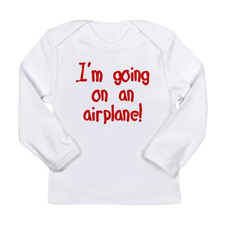 going on an airplane Long Sleeve Infant T-Shirt
