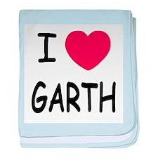 I heart Garth baby blanket