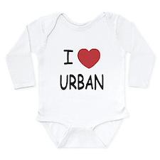 I heart urban Long Sleeve Infant Bodysuit