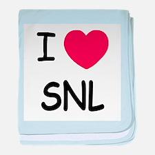 I heart SNL baby blanket