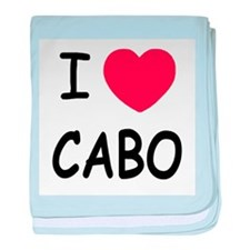 I heart Cabo baby blanket
