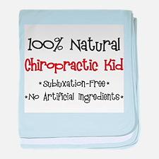 Chiropractic Kid baby blanket