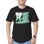 Funny Dentist Quote Men's Fitted T-Shirt (dark)