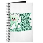 Funny Dentist Quote Journal