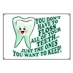 Funny Dentist Quote Banner