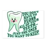 Funny Dentist Quote Postcards (Package of 8)