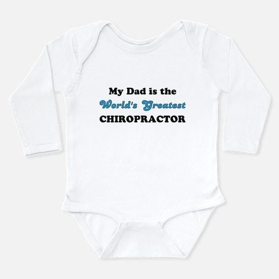 Dad World's Greatest Chiro L/Slv Infant Bodysuit