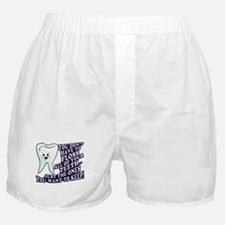 Brush and Floss Boxer Shorts