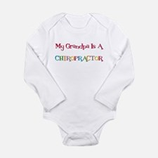 My Grandpa Is A Chiro Long Sleeve Infant Bodysuit
