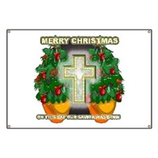 Christmas Savior Banner