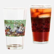 Alice in Wonderland Adventure Vinta Drinking Glass
