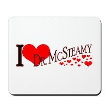 I <3 McSteamy Mousepad