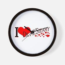 I <3 McSteamy Wall Clock