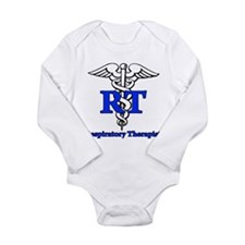 Respiratory Therapist Long Sleeve Infant Bodysuit