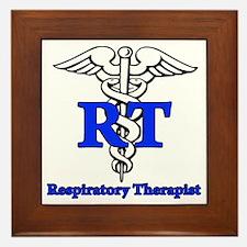 Respiratory Therapist Framed Tile