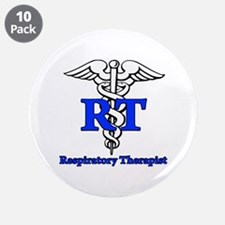"Respiratory Therapist 3.5"" Button (10 pack)"