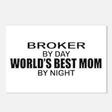World's Best Mom - Broker Postcards (Package of 8)