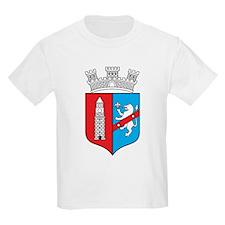 Tirana Coat Of Arms Kids T-Shirt