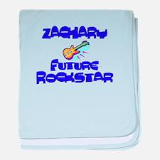 Zachary - Future Rock Star baby blanket
