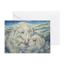 Little Lamb Found Christmas card