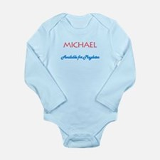 Michael - Available for Playd Long Sleeve Infant B