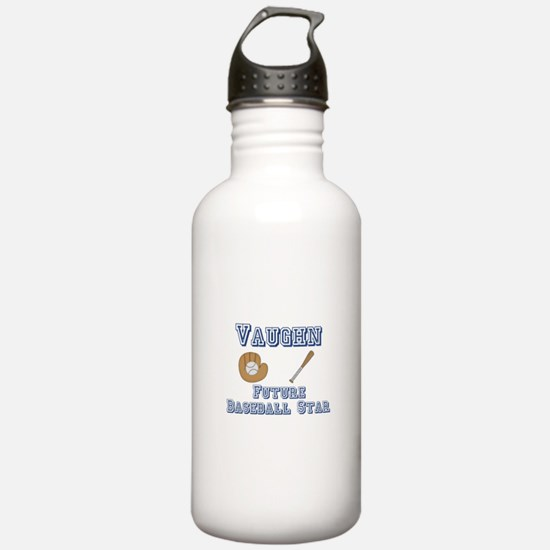 Vaughn - Future Baseball Star Water Bottle