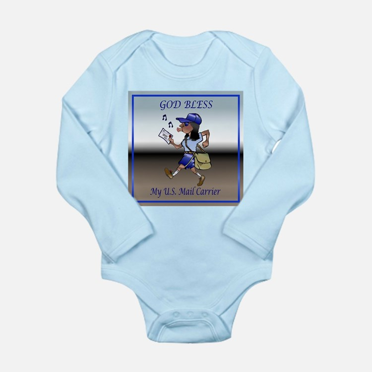 Mail Carrier Long Sleeve Infant Bodysuit