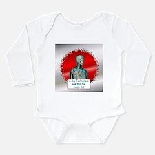 Radiologists Long Sleeve Infant Bodysuit