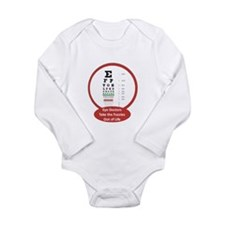 Vision Long Sleeve Infant Bodysuit