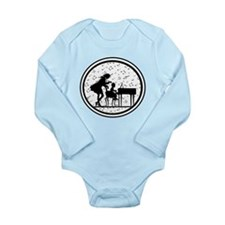 Piano Teacher Long Sleeve Infant Bodysuit