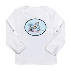 Rat Scientist Long Sleeve Infant T-Shirt