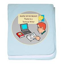Software Manuals baby blanket