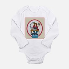 Woman Writer Long Sleeve Infant Bodysuit