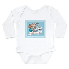 Cats & Writers Long Sleeve Infant Bodysuit