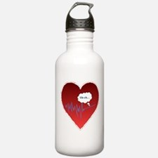 Uh Oh FlatlineTri-v Water Bottle