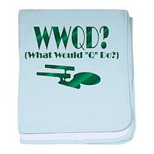 WWQD? baby blanket