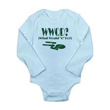 WWQD? Long Sleeve Infant Bodysuit