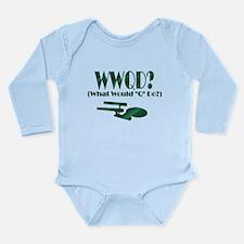 WWQD? Long Sleeve Infant Bodysuit