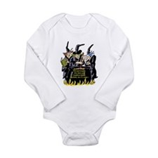 Macbeth1 Long Sleeve Infant Bodysuit