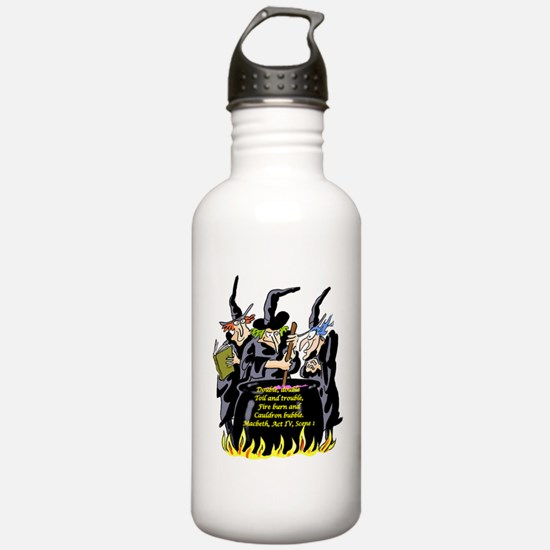 Macbeth1 Water Bottle