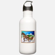 Holiday Cards Water Bottle