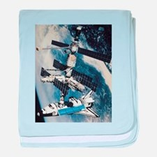 International Space Station baby blanket
