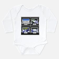 Hurricane Long Sleeve Infant Bodysuit