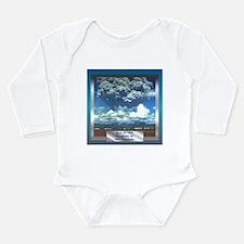 Mt. Pinatubo Long Sleeve Infant Bodysuit