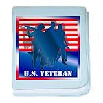 US Veteran baby blanket