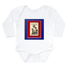 Red Cross Long Sleeve Infant Bodysuit