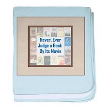 Book vs. Movie baby blanket